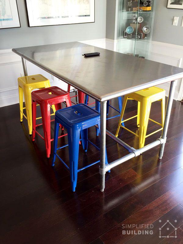 Diy Kitchen Prep Table Kitchen Prep Table Stainless Steel