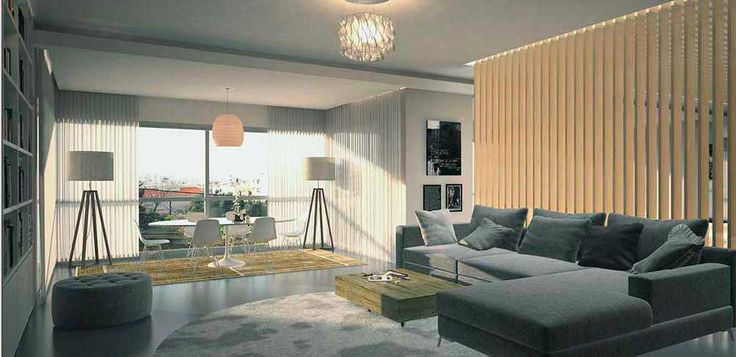 Bright and spacious interior designed by decoaid