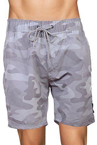 Camouflage Vêtements Bain De Kaki Pour Homme Crosshatch Short 76vYgybf