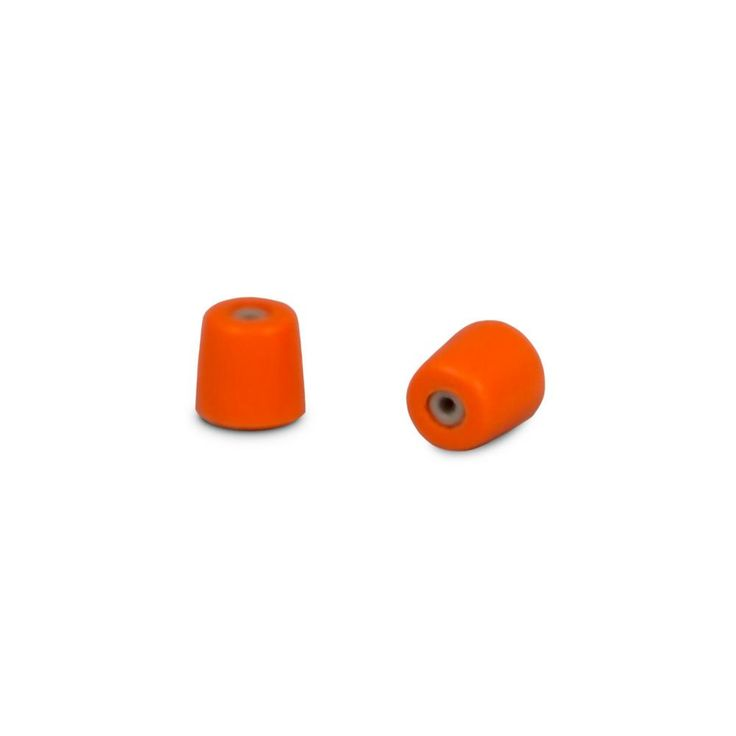 Medium Foam Ear Plugs for Commercial Headsets (50-Pair), Oranges/Peaches