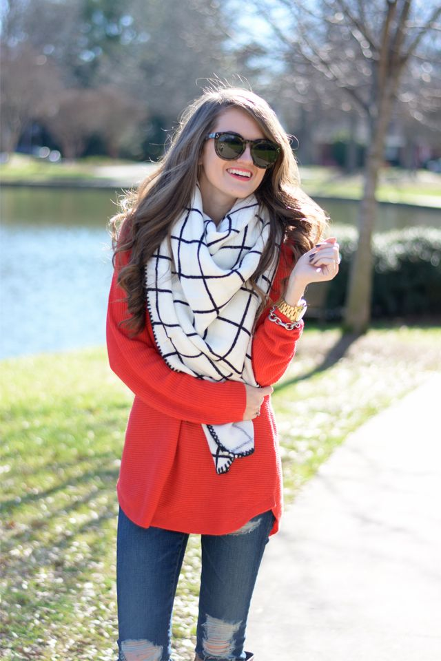 Southern Curls & Pearls: The Cutest Blanket Scarf In the World...