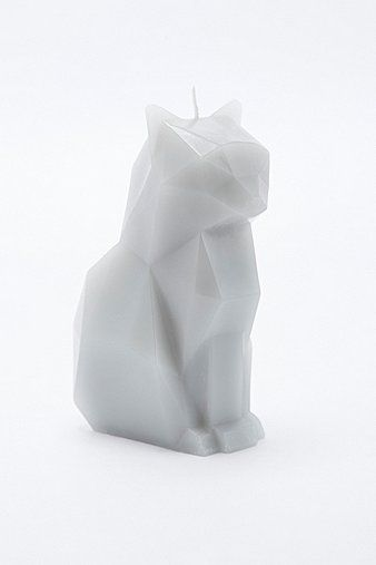 Pyropet Kisa Candle in Grey - Urban Outfitters