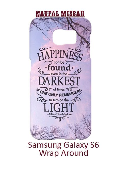 Happiness Harry Potter Samsung Galaxy S6 Case Cover