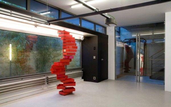 ARCHITECTURE : Maison de ville CK06 ''Éco-friendly'' dans le 20ieme arrondissement à Paris. NICE !