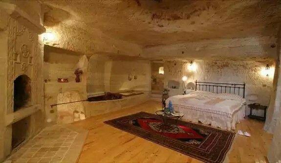 Cave Home, Bedroom. Spain.