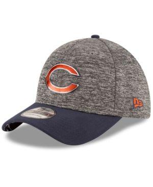 New Era Chicago Bears 2016 Nfl Draft 39THIRTY Cap - Gray M/L
