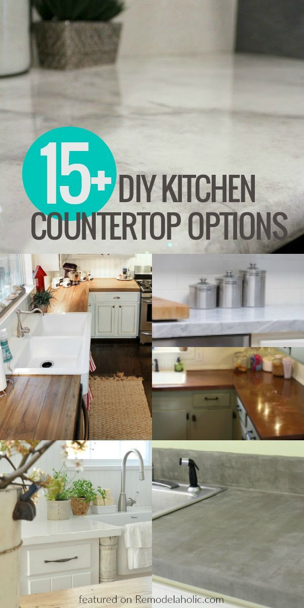Update Your Kitchen On A Budget With These Affordable Diy Kitchen Countertop Optio Diy Kitchen Countertops Replacing Kitchen Countertops Budget Kitchen Remodel