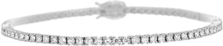 JCPenney FINE JEWELRY LIMITED QUANTITIES 2 CT. T.W. Diamond 14K White Gold Tennis Bracelet