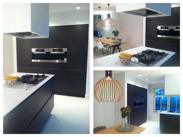Keuken Kastenwand Met Nis : en productie sabine burkunk stoere keuken met beton gecombineerd met