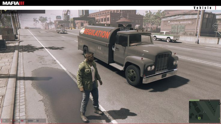 ArtStation - Truck Cistern for Mafia 3 game, Scythgames Studio