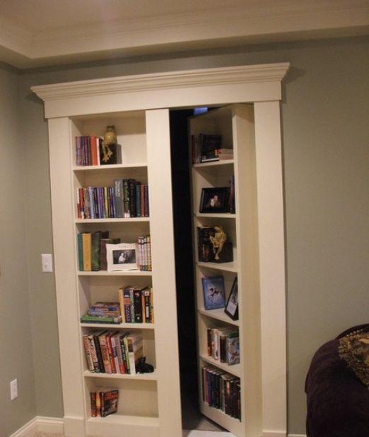 False Door Bookcase: 44 Best Bookcase Door Images On Pinterest