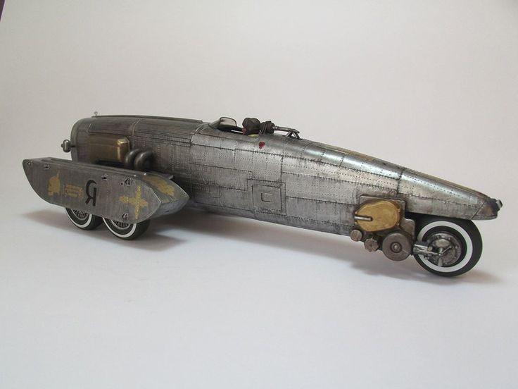 ジャンクプラント » ブリキのレーサー