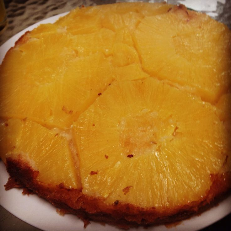 Pineapple upside down cake #pineapple  :-) home baking ...