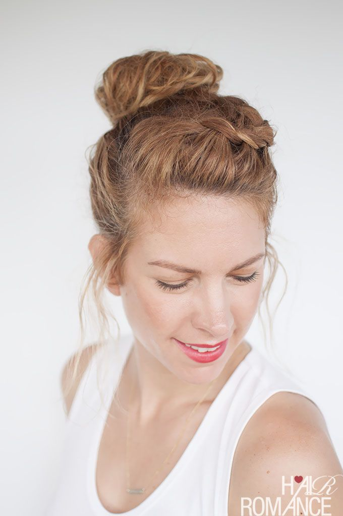 top knot hair style 1000 ideas about braided top knots on top 5643 | cac65b7c718b1a1a1b299c301d7cc3d0