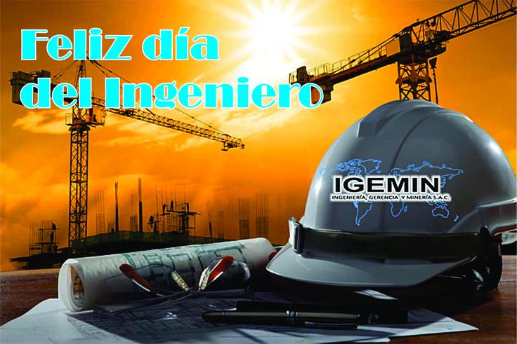 Cada 8 de junio, en todo el país, se celebra el Día del Ingeniero, que es una importante actividad profesional a través de la cual se conduce y dirige por medio de las matemáticas aplicadas, la solución de problemas tecnológicos, científicos, ambientales y de infraestructura, según sus diversas especialidades. Igemin Peru Saluda a todos los ingenieros que son parte de esta empresa y a todos a nivel nacional.