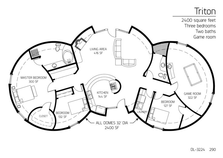 17 best Home floor plans images on Pinterest Square feet Dome
