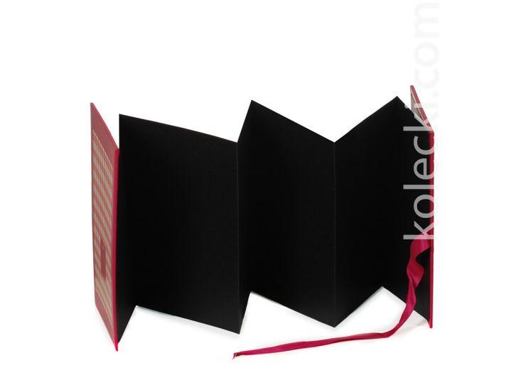 mini albumik do wklejania zdjęć pink