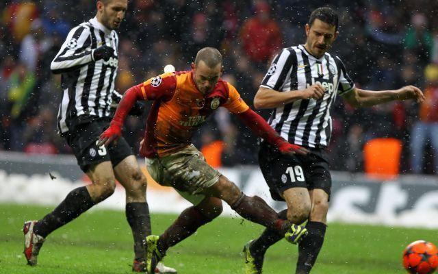 champions:Galatasaray-Juventus 1-0 Video Highlights con intervista a Conte e Mancini #video #juventus #conte #mancini #galatasaray