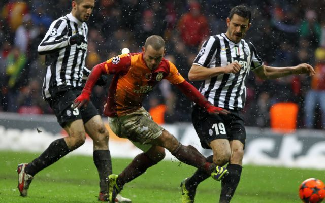 champions:Galatasaray-Juventus 1-0 Video Highlights con intervista a Conte e Mancini #video #juventus #conte #mancini #galatasaray