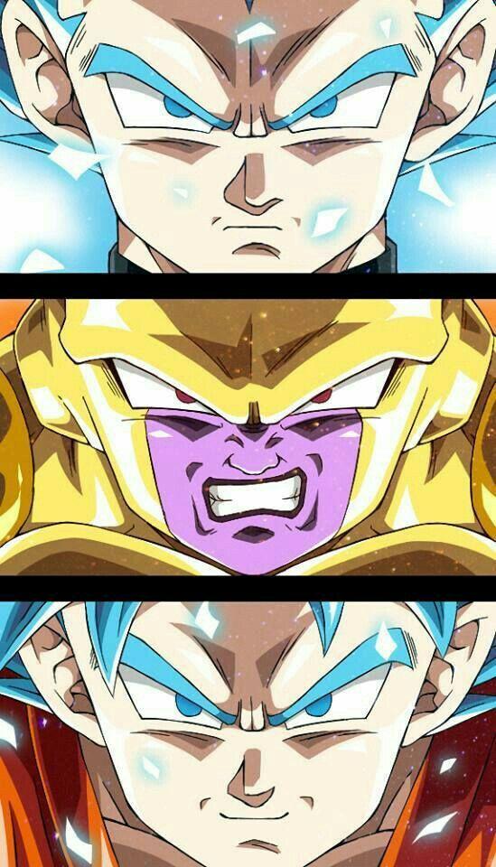 Vegeta/freeza/Goku