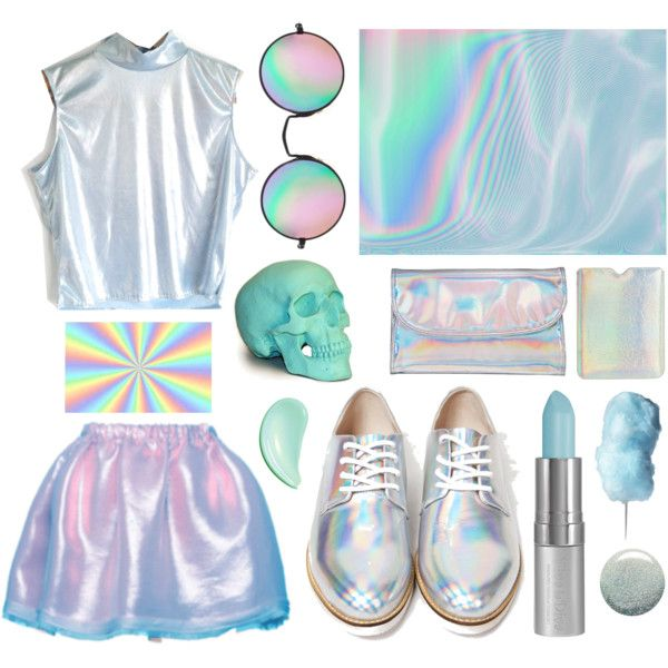 shimmery holographic poop