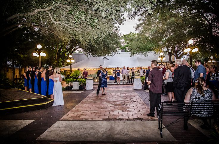 Ybor City State Museum Provides A Great Atomosphere For Weddings In Their Courtyard Surrounded By Plenty Of Trees Http Celebrationsoftampabay Co