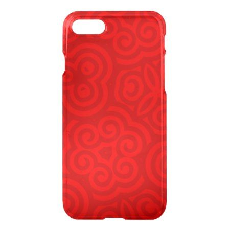 Red Abstract Pattern iPhone 7 Case - click to get yours right now!