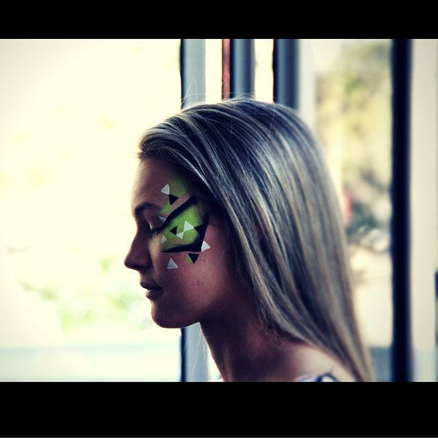 Amazing work by #bodyartandfacemasks - rocked the catwalk! #dontdopretty #DDP