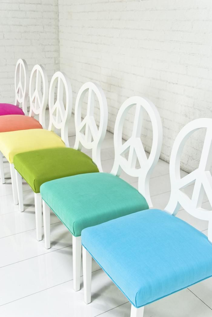 Peace Dining Chair Sorbet Collection