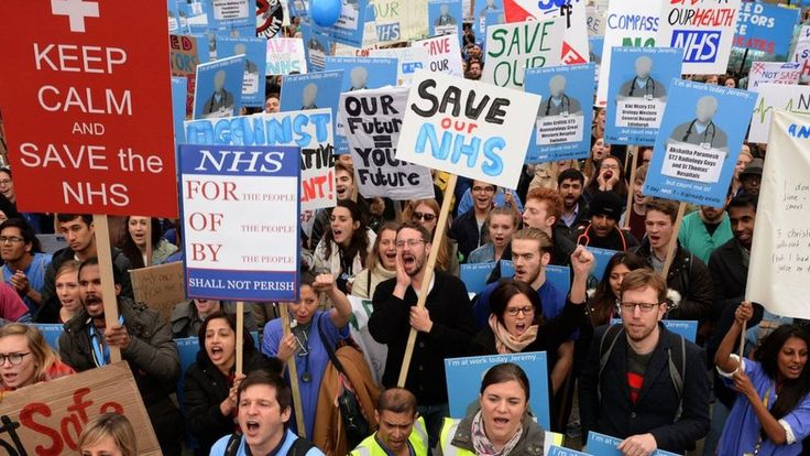 David Cameron has urged junior doctors to call off their planned strike action.