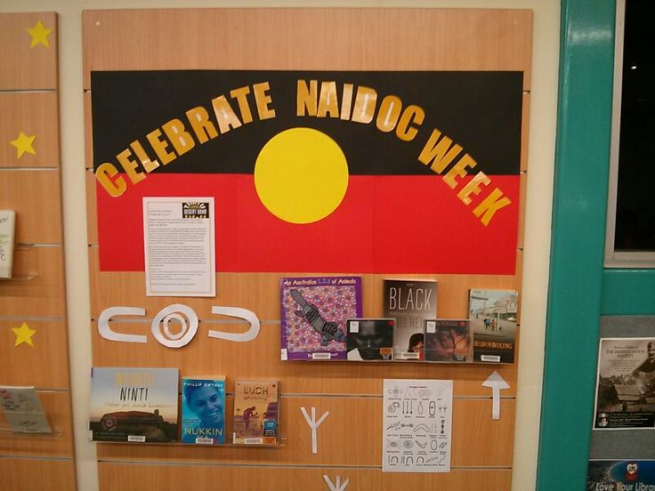 Naidoc week display ! Bottom right is a list of symbols used in indigenous painting.
