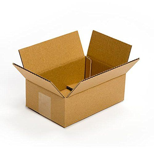 """Pratt PRA0023 100PK 100% Recycled Corrugated Cardboard Box, 9"""" Length x 6"""" Width x 4"""" Height (Pack of 100) - Pratt PRA0023 100PK is made of 100 percent recycled, 32 ECT grade, single wall, corrugated fiberboard. The ECT grade corrugated cardboard is constructed, tested and graded for compressive strength which aids in stacking performance. When assembled, the rectangular box measures 9 x 6 x 4 inches (L..."""
