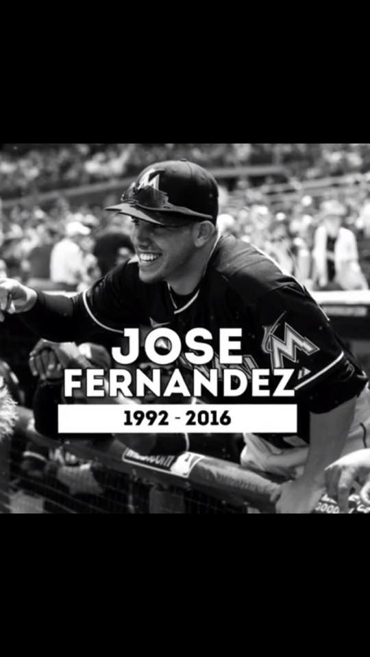 José Delfin Fernández Gomez (July 31, 1992 – September 25, 2016) was a Cuban-born American professional baseball pitcher. He played in Major League Baseball (MLB) for the Miami Marlins from 2013 until his death in 2016. Miami reports that Fernandez's blood ethanol level was between .14 percent and .16 percent, or twice the legal limit. Fernandez and Rivero also had cocaine in their system, according to the Miami-Dade Medical Examiner's Office report.