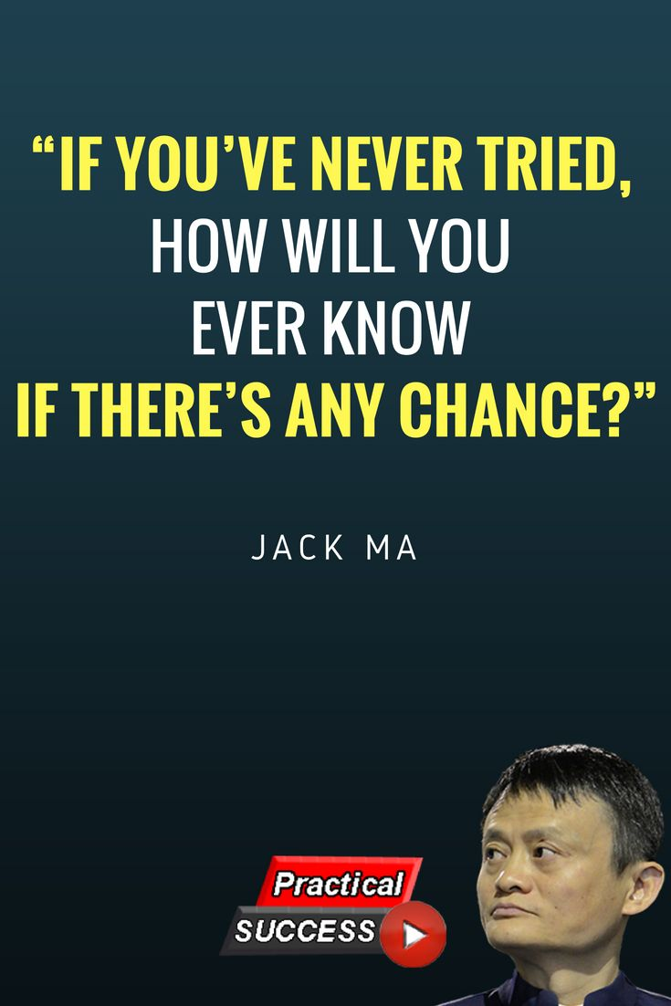 Jack Ma's life philosophy. Jack Ma, is a Chinese business ...