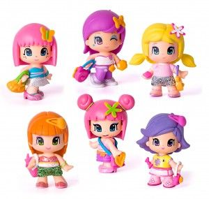 Pinypon Toys, interchangeable dolls and accessories.