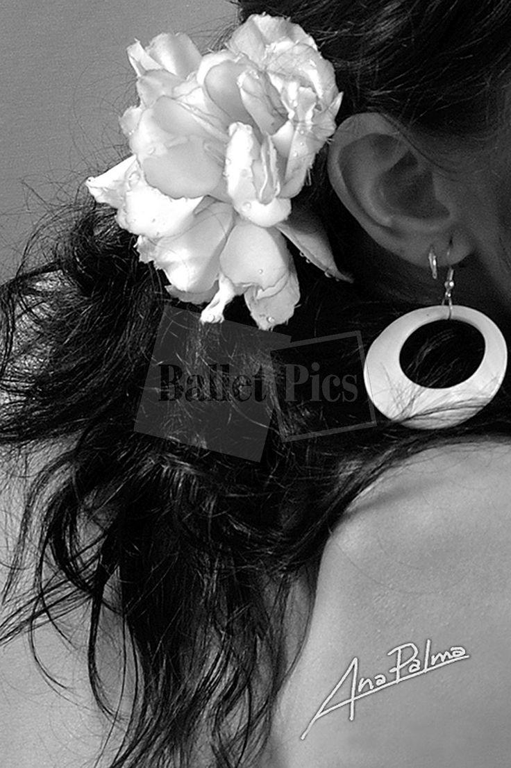 """A. Palma, """"Boucle d'oreille et fleur de flamenco"""" - BalletPics.net"""