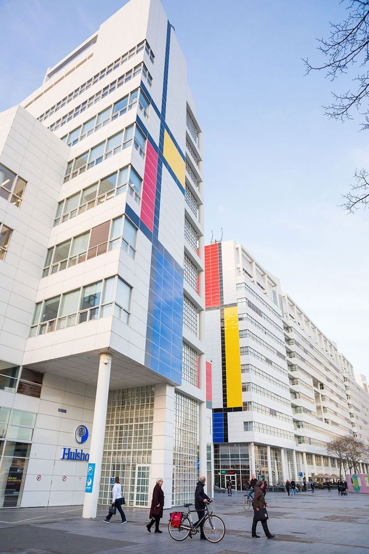 The Largest Replica of Mondrian in The Hague