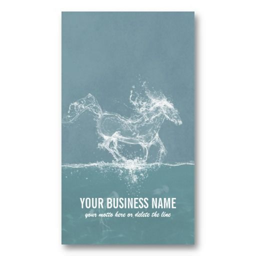 Water Horse - Business Card