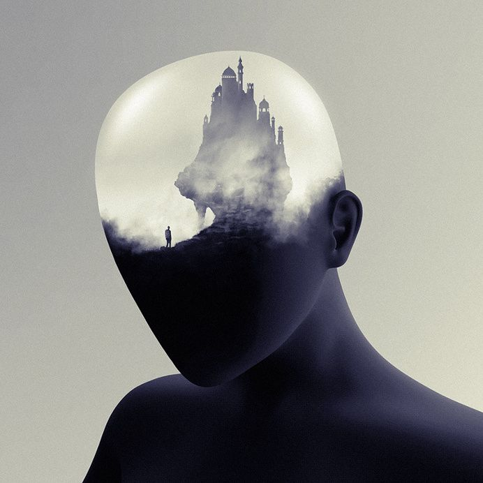 Mind's Eye Illustration Series by Gabriel Levesque in Art