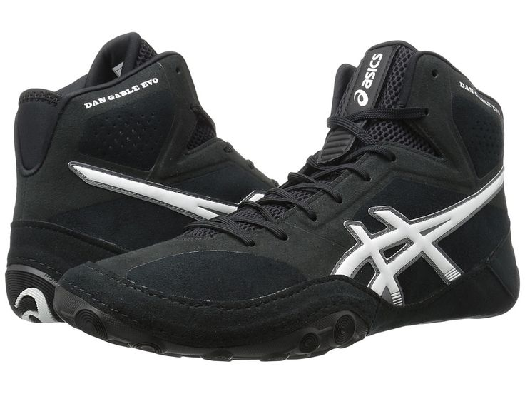 ASICS Dan Gable Evo Men's Wrestling Shoes Black/White/Carbon