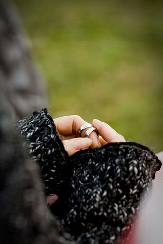 Ring warming for ceremony. The wedding rings are passed from guest guest for them to bless the marriage.