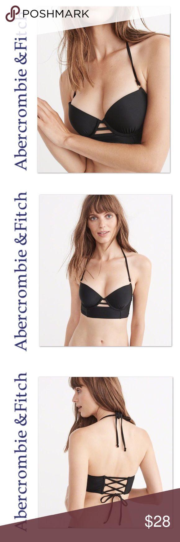 NWT Abercrombie & Fitch A&F Push Up Bikini Top New Abercrombie & Fitch Swim Bikinis