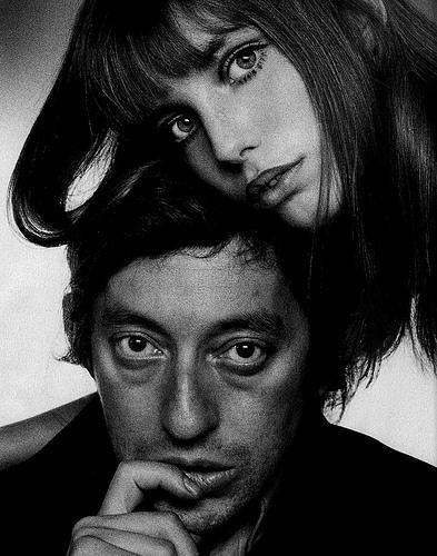Le Couple des Couples Serge Gainsbourg et Jane Birkin. fhu