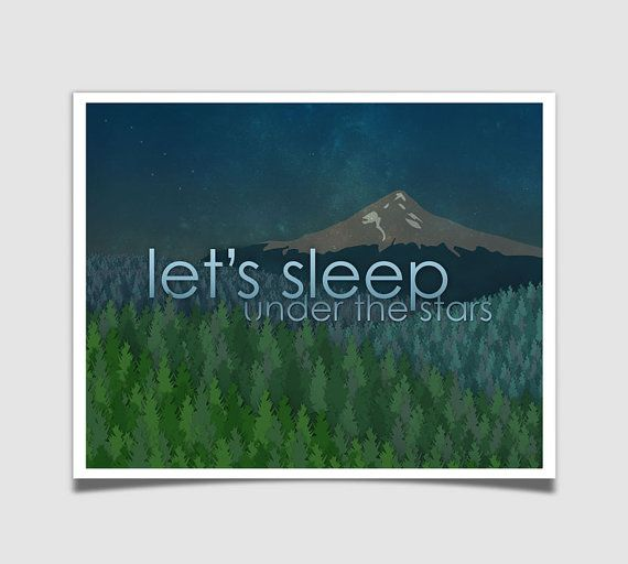 Let's Sleep Under The Stars Quote