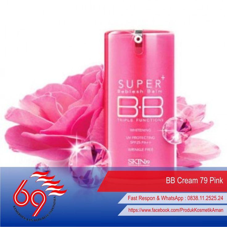Kegunaan Bb Cream, Review Bb Cream, Harga Bb Cream, Bb Cream Korea, Bb Cream Yang Bagus, Bb Cream Paling Bagus, Bb Cream Kulit Berminyak  ----- .:: [ BB Cream 79 Pink ] ::. -----  Manfaat SKIN79 BB Cream : *Natural Cover (secara alami menutup bercak, bintik dan flaws lain pada kulit) *Moisturize (melembabkan) *Whitening (memutihkan) *Anti Wrinkle (anti keriput) *SPF 15PA++ (melindungi kulit dari sengatan matahari)  Selengkapnya : http://goo.gl/JOFkwd