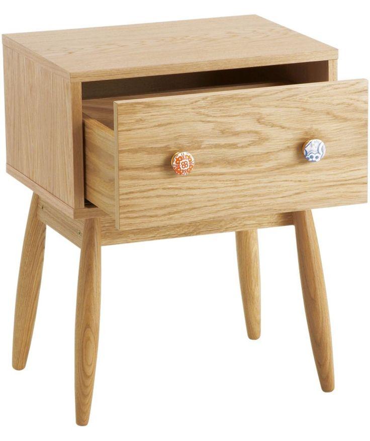 Buy Habitat Oak Bedside Unit at Argos.co.uk - Your Online Shop for Bedside cabinets.