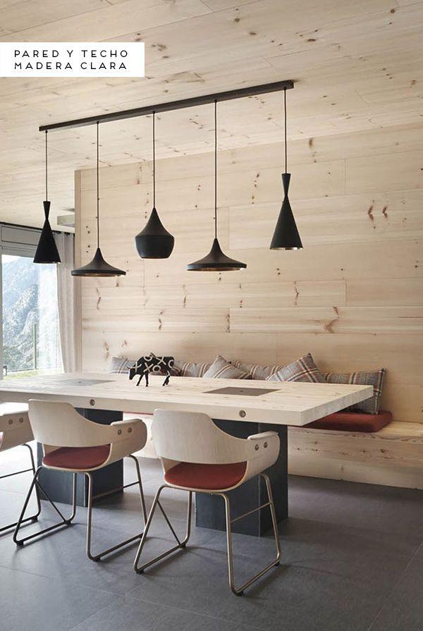 Inspiración: Paredes de madera