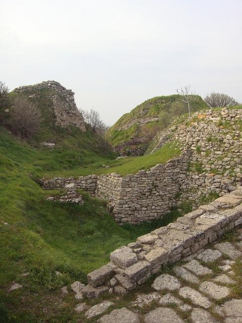 Ruins. City of Troy. Turkey.