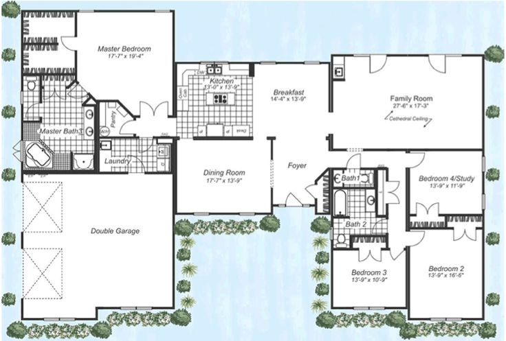 37 best house plans images on pinterest floor plans for Modular ranch plans