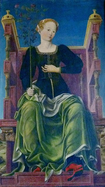 Cosmè or Cosimo Tura (1430-1495; born & died in Ferrara) Ferrara Original photo by courtesy of jonfholl.